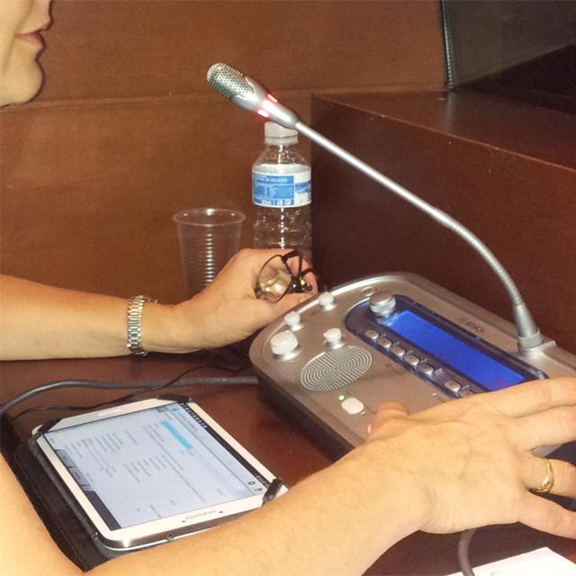 Consola y tableta